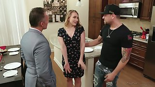 Milf be proper of your dream AJ Applegate gives a good nuru palpate to one blistering man