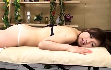 Softcore Buttery rubdown From japanese cougar