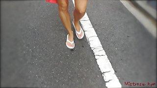 Femdom Feet worship compilation (Mistress Kym)