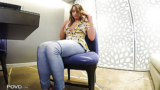 Mishandle masturbating chick Taylor Sands gets finally fucked properly